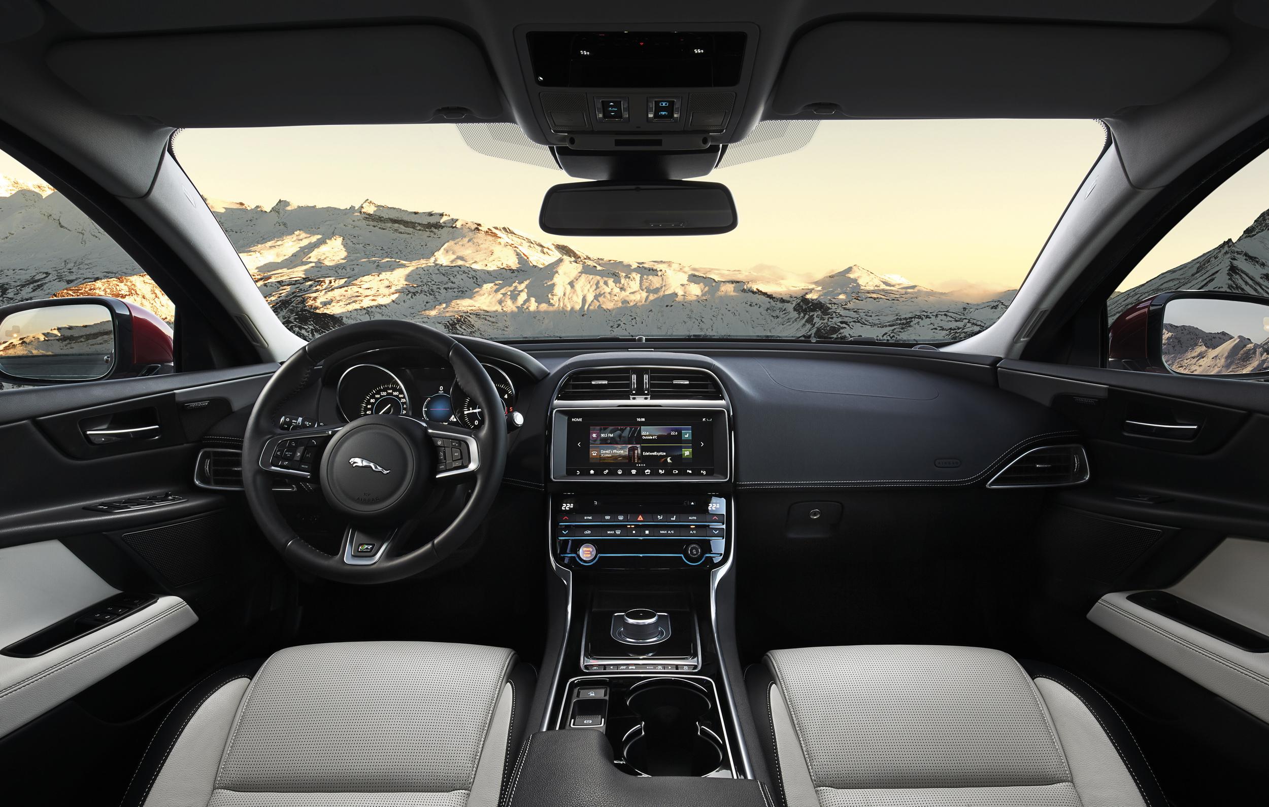 2017 jaguar xe wallpapers x auto - Best interior design websites 2017 ...