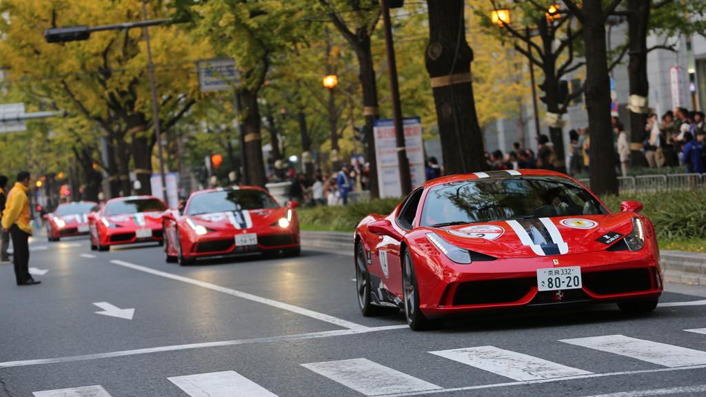 Ferrari Marathon In Japan