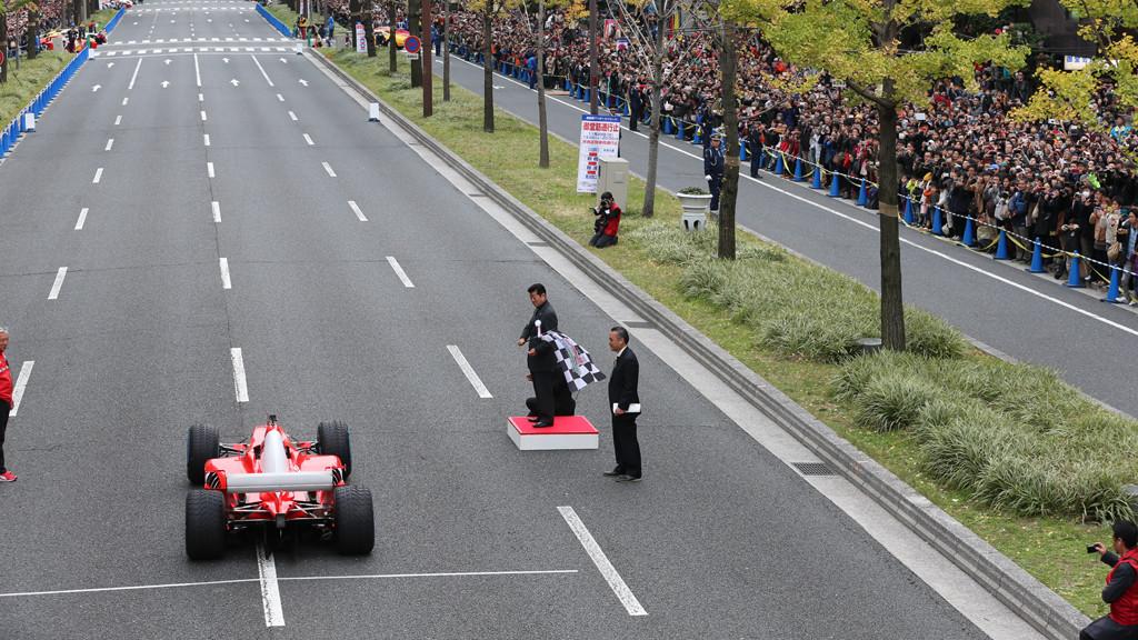Ferrari F1 Racer In Osaka Japan Ready To Drag