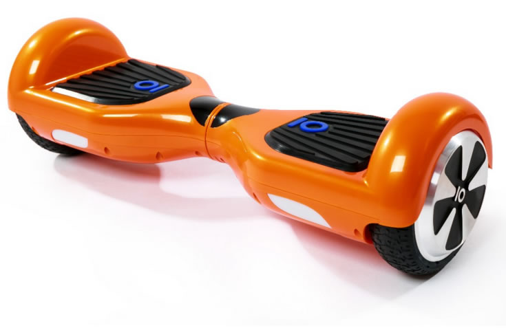 Mini Smart Scooter For Kids In Orange Color