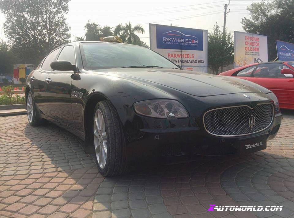 Maeserati at Faisalabad Auto Show