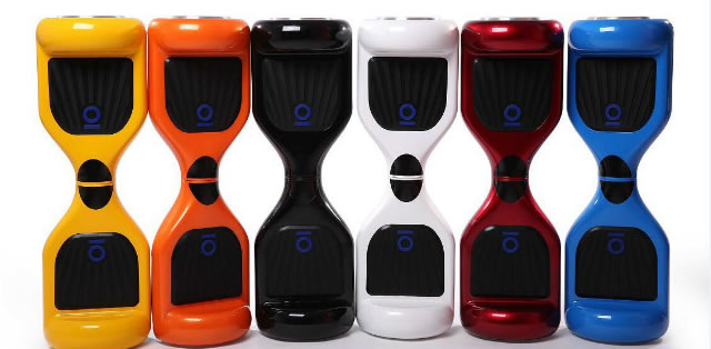 Different Colors In Mini Smart Self Blancing Scooters