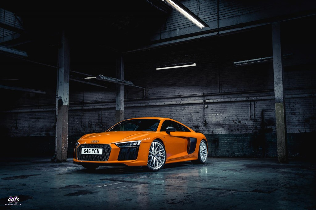 Audi R8 - Orange Colour HD Wallpapers - X Auto