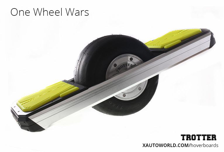 One Wheel Hoverboard by Trotter