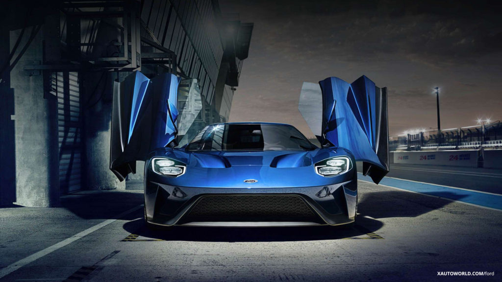 2017 Ford GT Gullwing Doors
