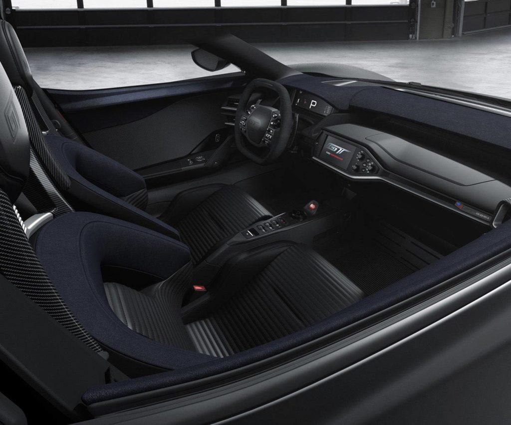 2017 ford gt interior light speed