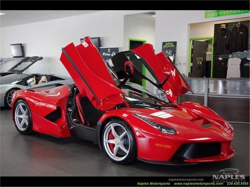 Red LaFerrari For Sale Naples