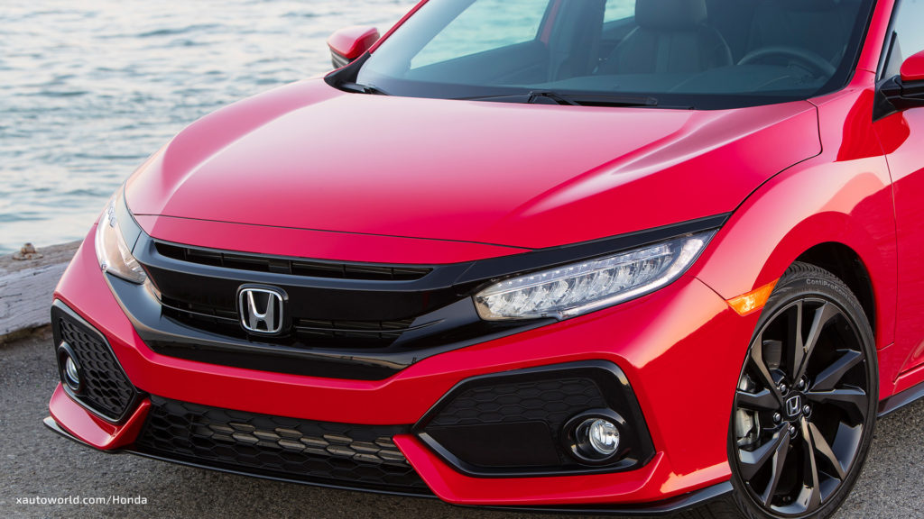 2017 Honda Civic Hatchback Sport Touring Front