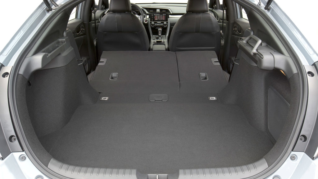 2017 Honda Civic Hatchback - Boot Space