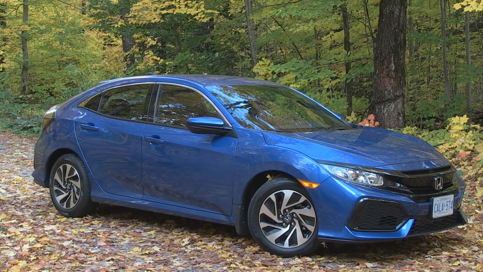 ... 2017 Honda Civic Hatchback LX, Canada  C
