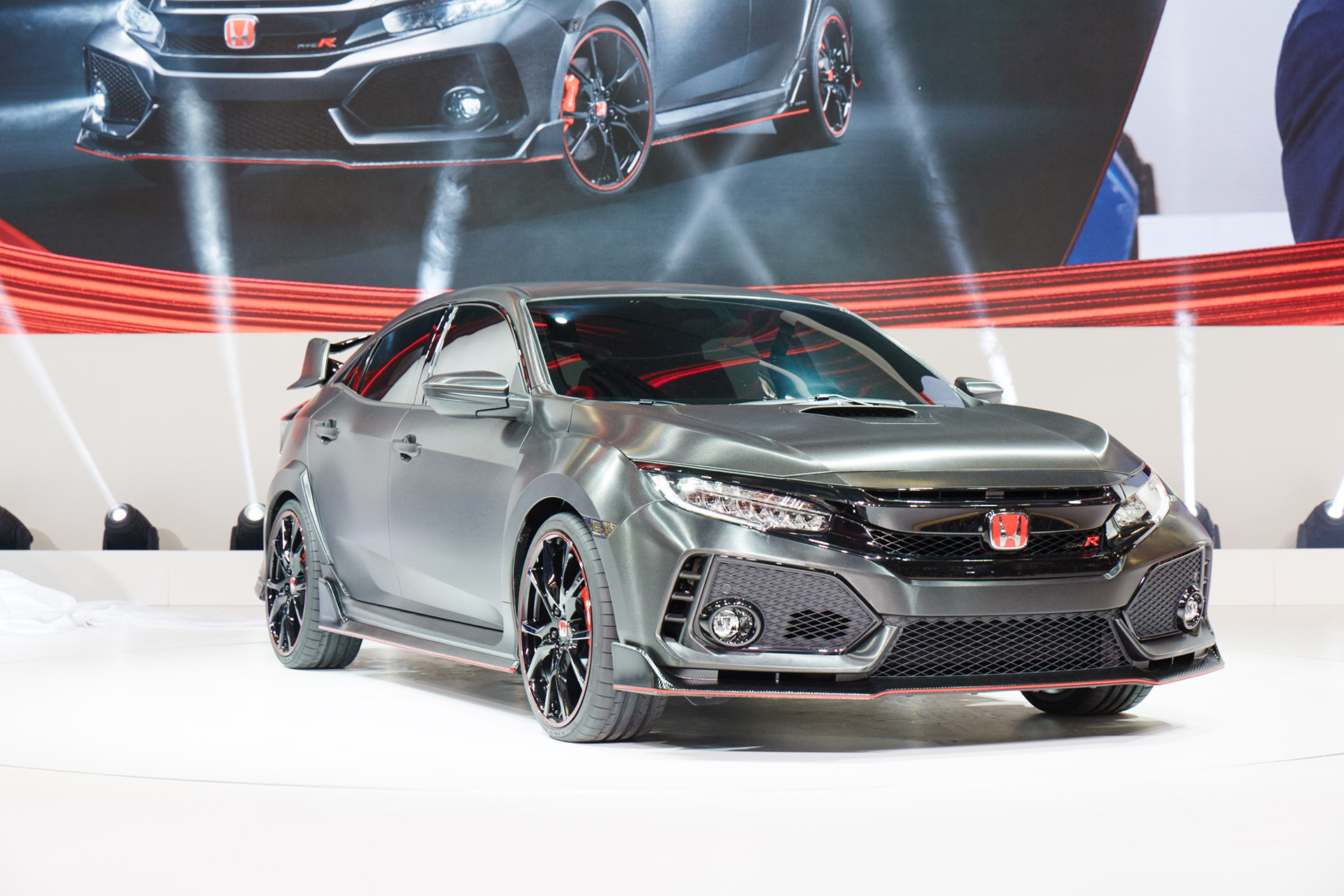 2017 civic type r prototype hd photo gallery x auto. Black Bedroom Furniture Sets. Home Design Ideas