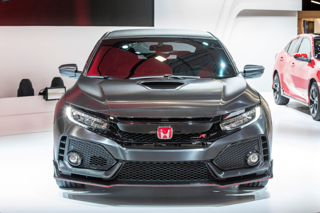 2017 Civic Type-R Front View