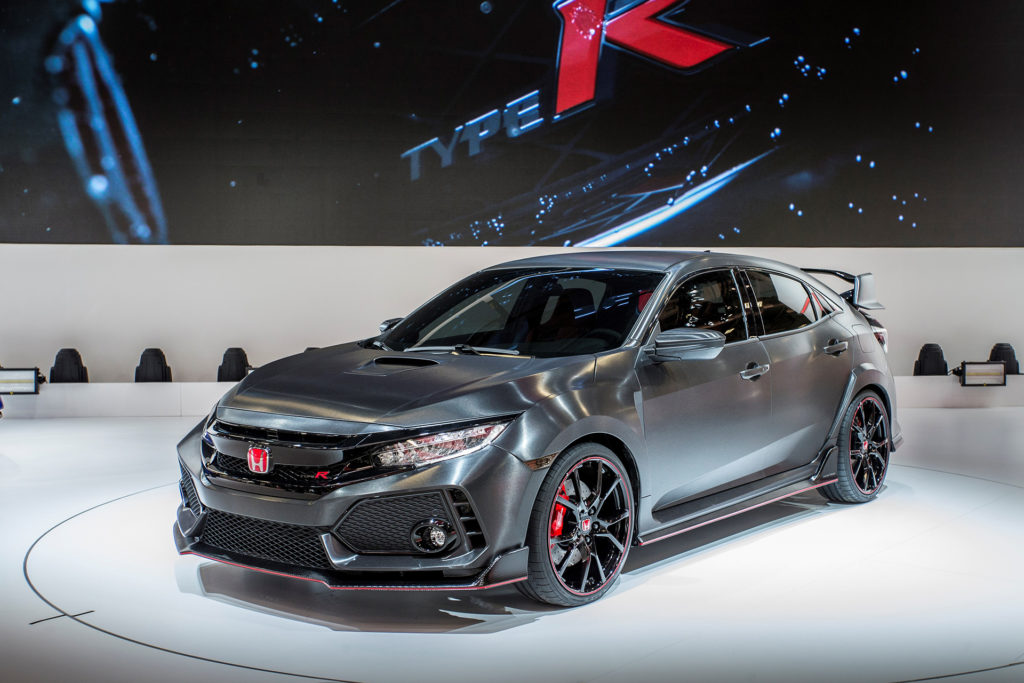 2017 Civic Type-R Prototype HD Photo Gallery - X Auto