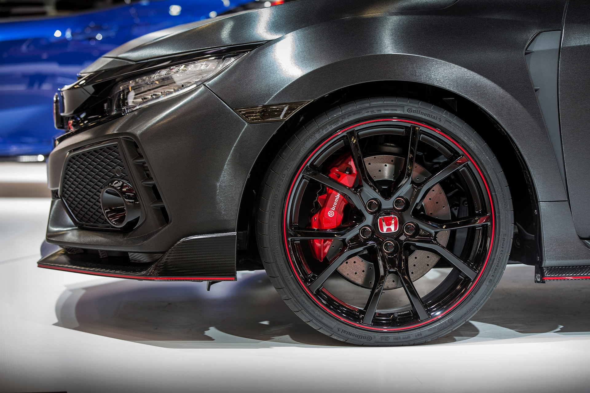 2017 Civic Type R Wheel With Brembo Brakes