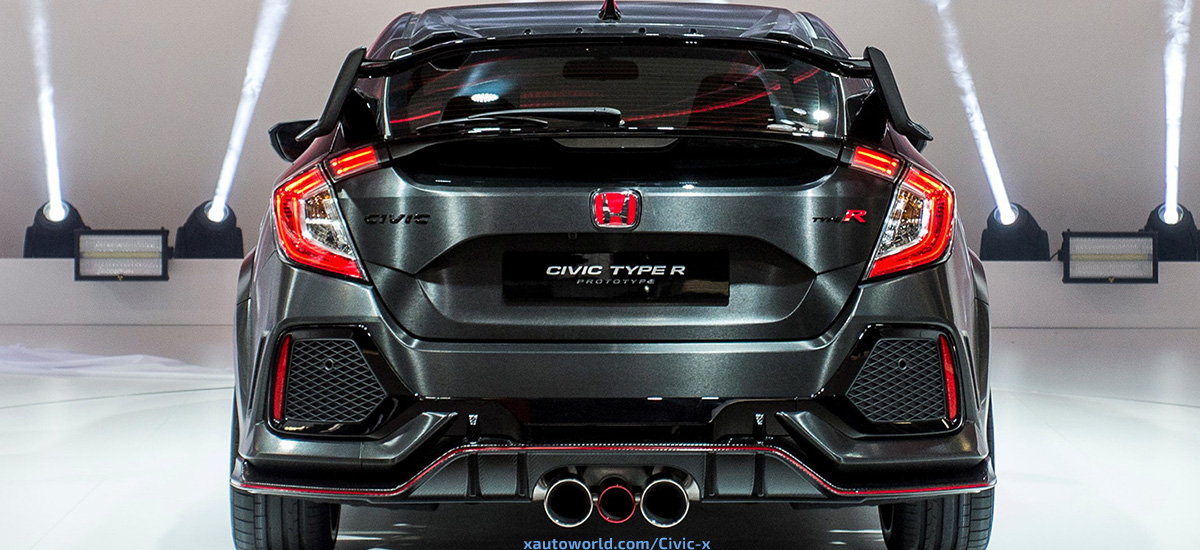 Superieur 2017 Civic Type R Prototype HD Photo Gallery   X Auto