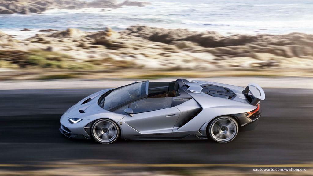 Centenario Roadster Wallpaper - Top View