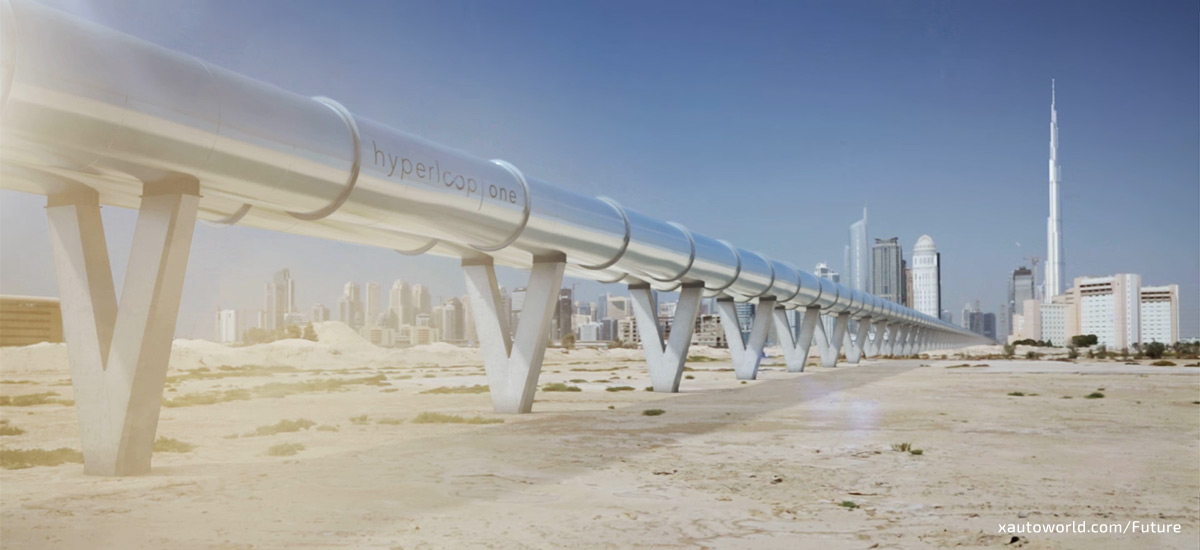 Hyperloop One - Abu Dhabi To Dubai 12 Mins