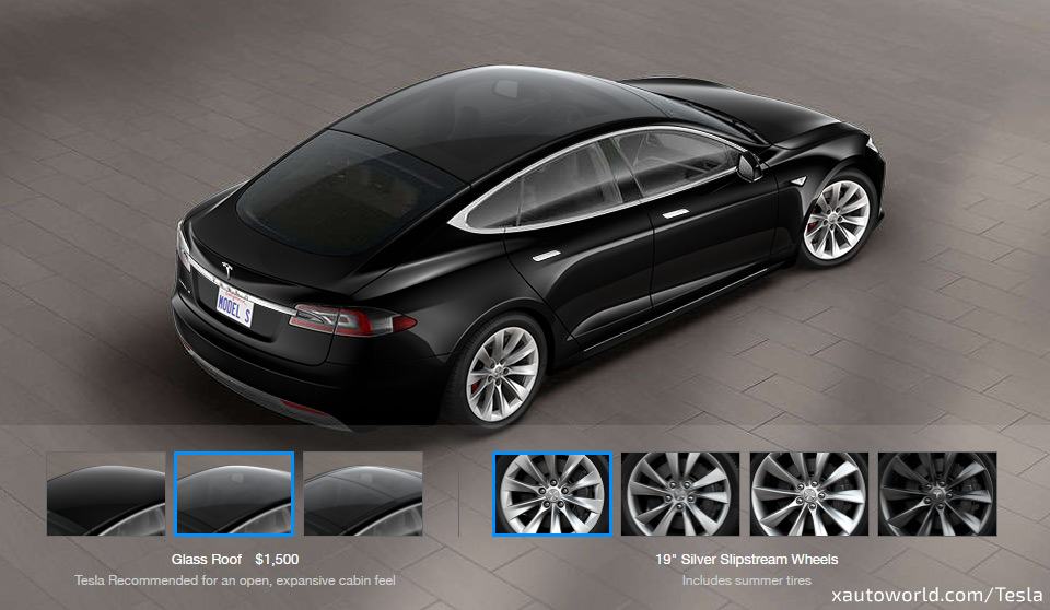 New Glass Roof Model S - $1500 Option