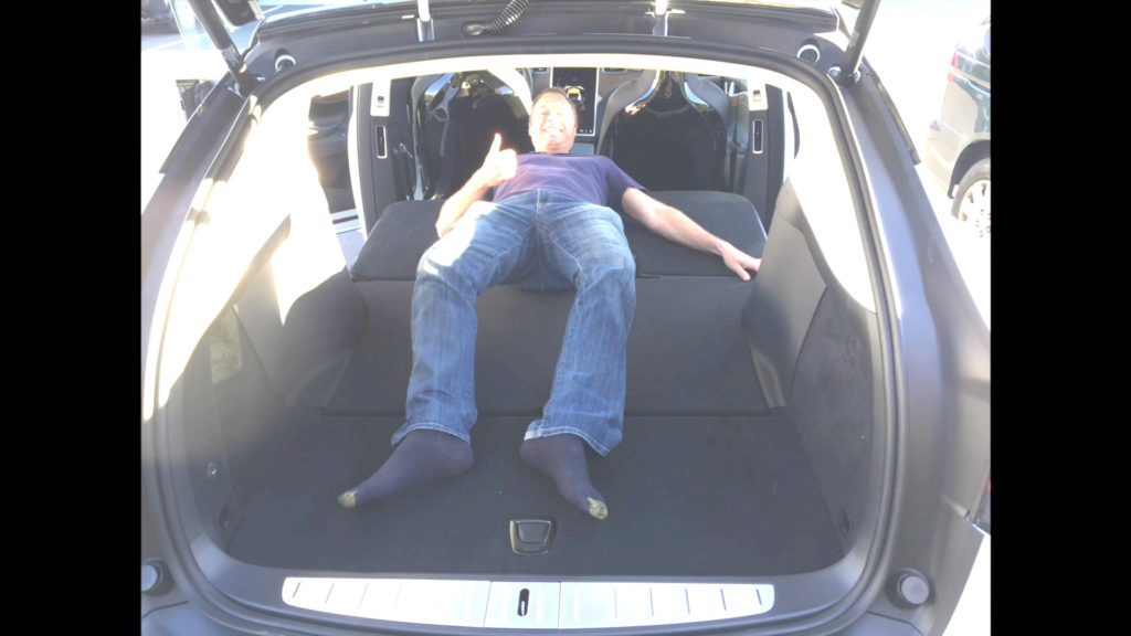 Tesla Model X 5 Seat Configuration Massive Space