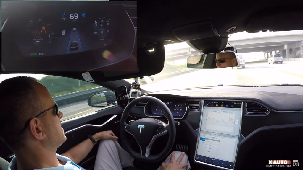 Tesla's radar with Autopilot 7.0 update can only detect 1 vehicle at the front