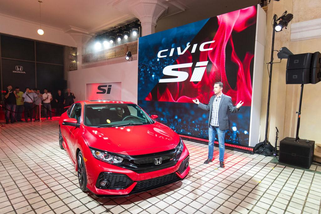 2017 Civic Si - Unveil Event
