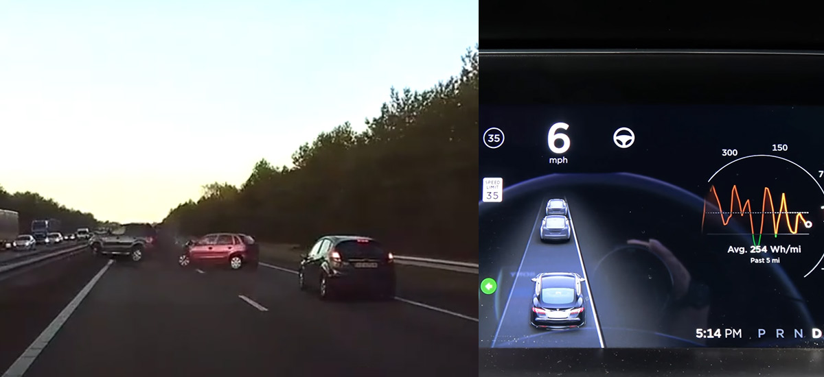 How Tesla Autopilot Radar Tehnology Predicted The Accident