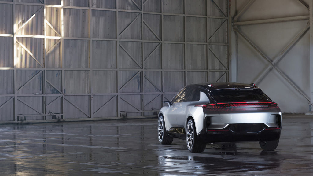 Farday Future's FF 91 - Rear View