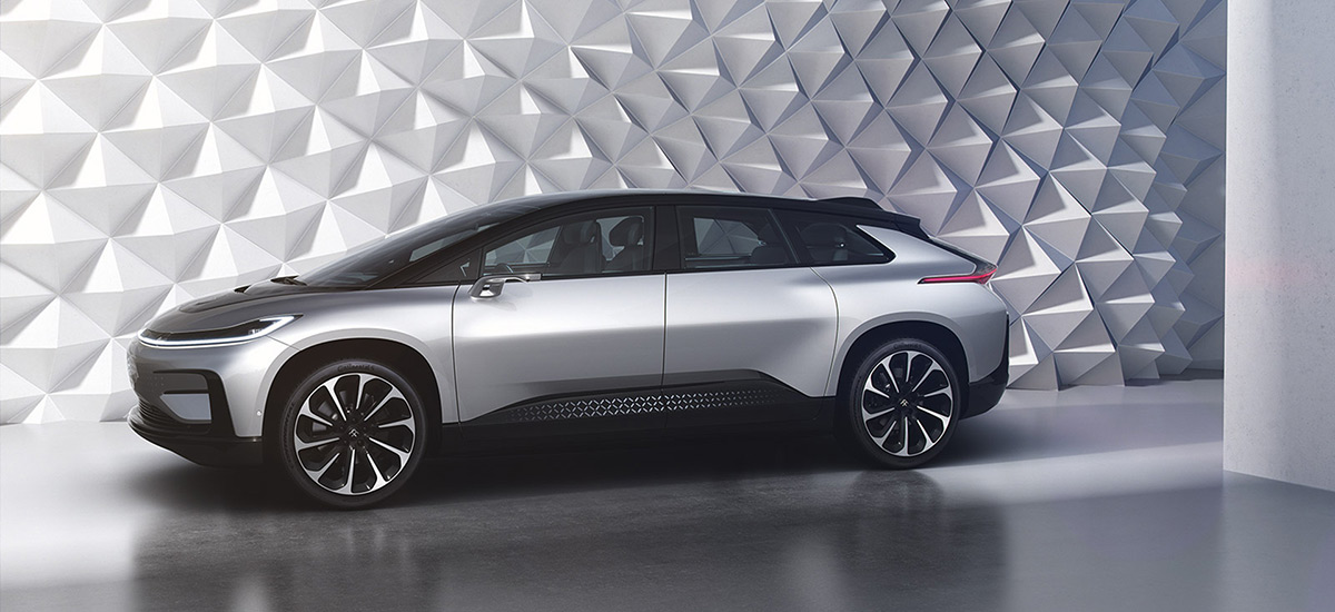 Faraday Future's Flagship Vehicle 'FF 91'