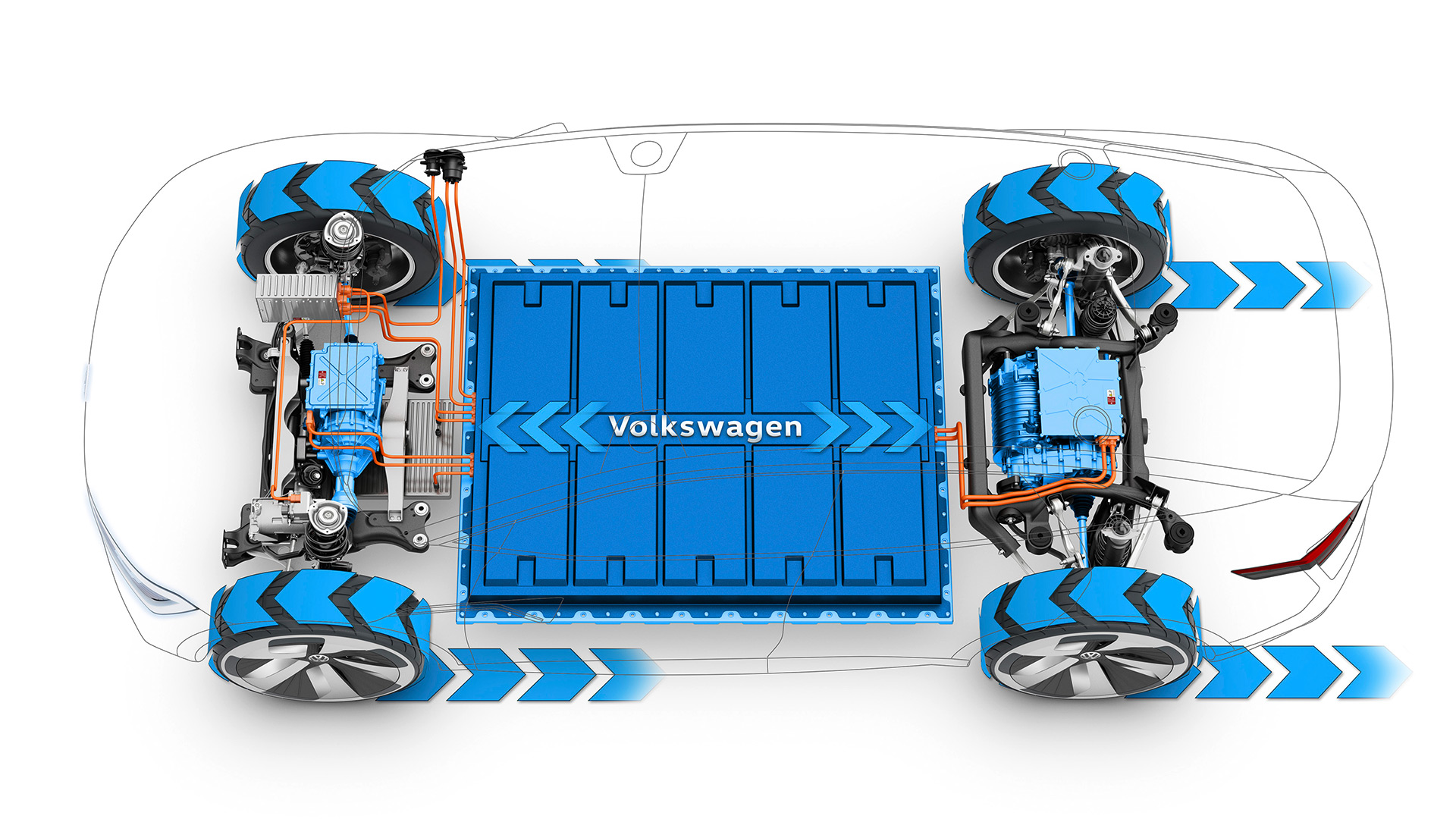 Volkswagen's Modular Electric Drive Matrix (MEB) for I.D. CROZZ Concept