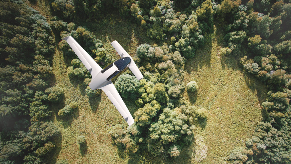 Lilium Electric Jet Flying