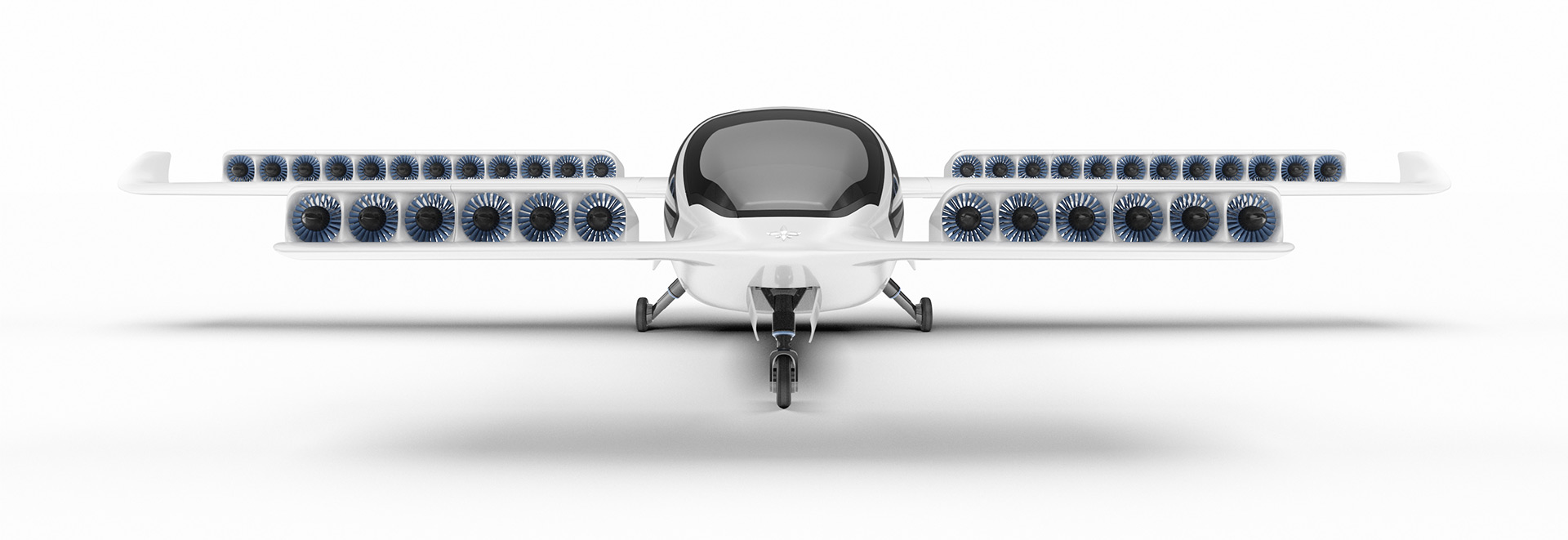 Lilium's Electric Jet - Front View