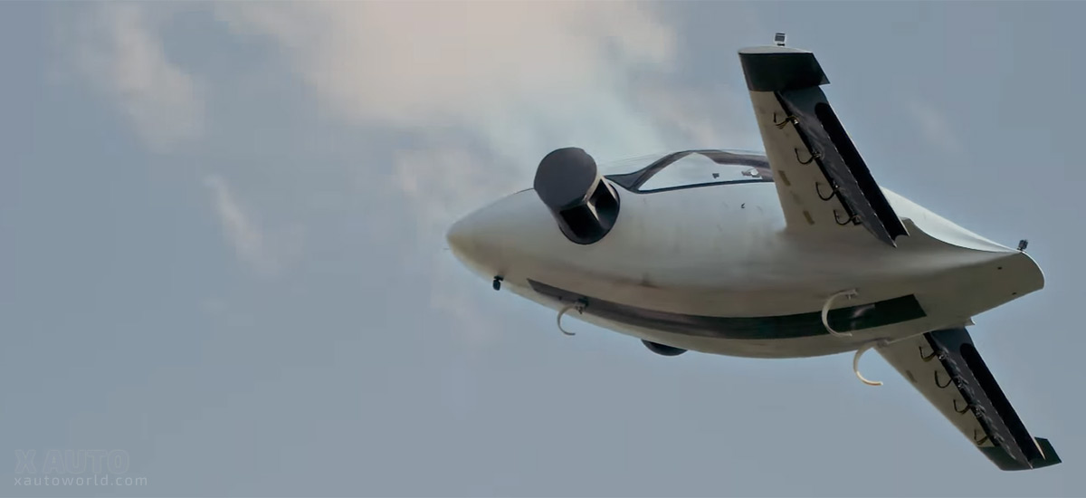Successful Flight Of World S First Electric Jet The