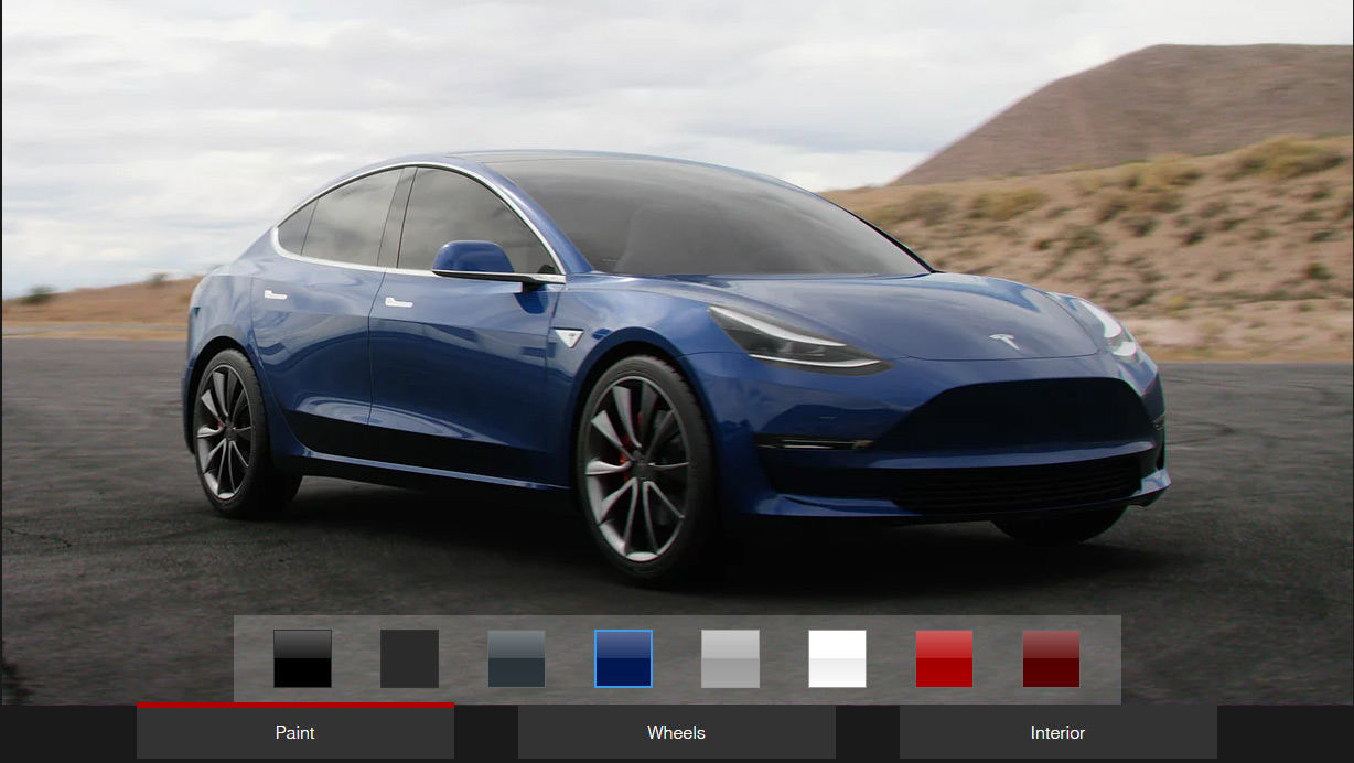 Tesla Model 3 Unofficial Design Studio