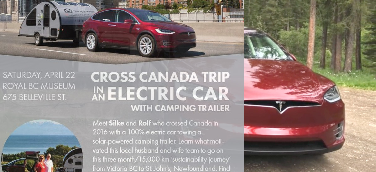 Earth Day Special - Cross Canada Trip On Electric Car