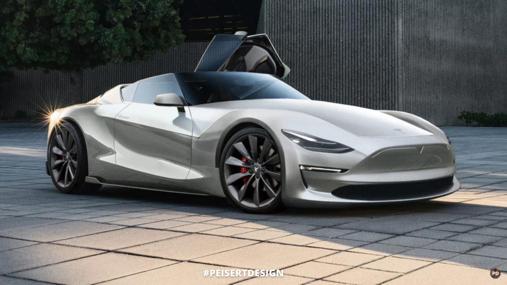 Concept Design - Next Gen Tesla Roadster