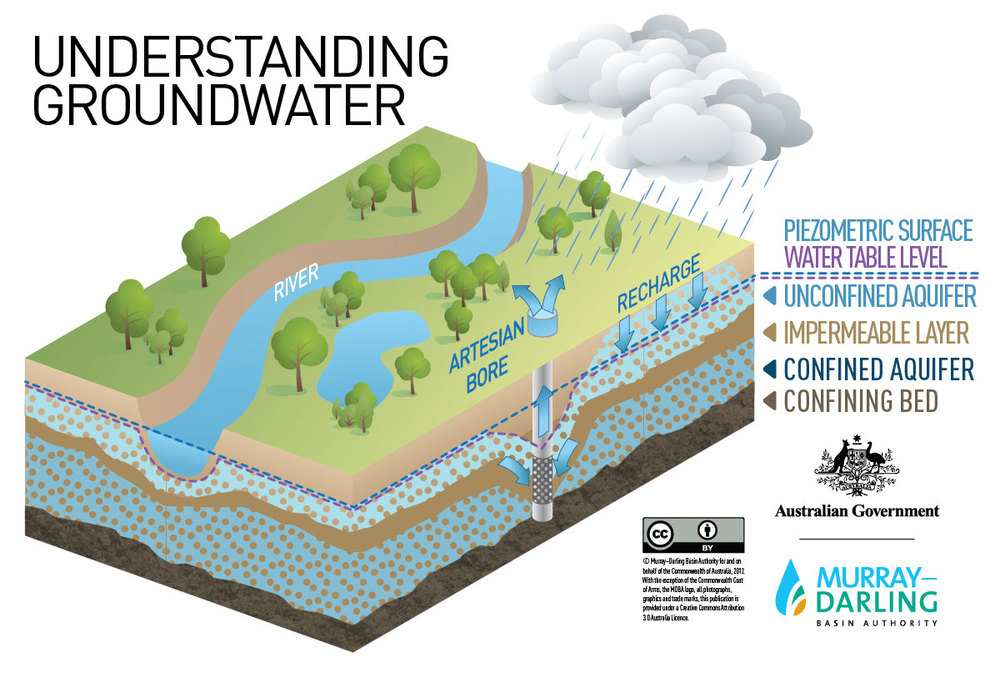 Understanding Water Table Level Infographic