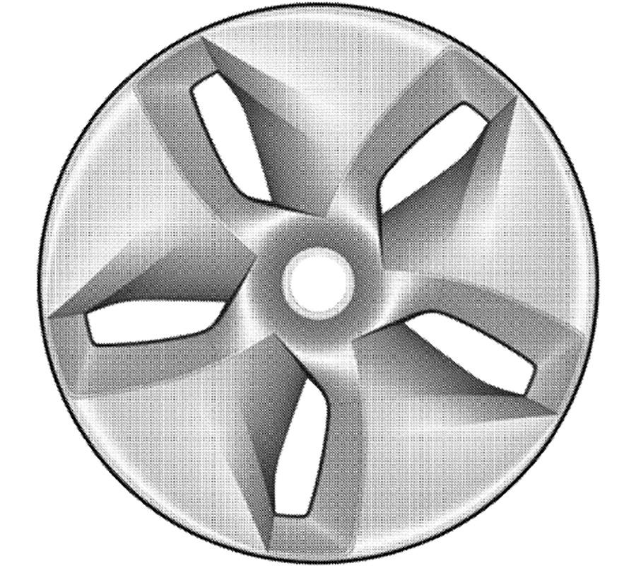Tesla Model 3 Aero-Wheel Patented Design