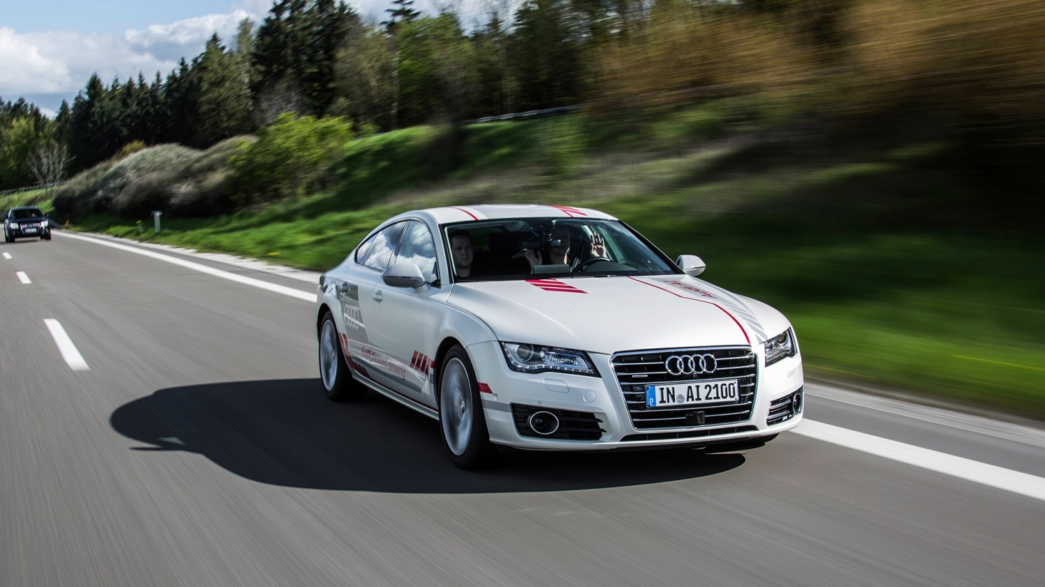 "Audi's Self Driving car ""AI 2100"""