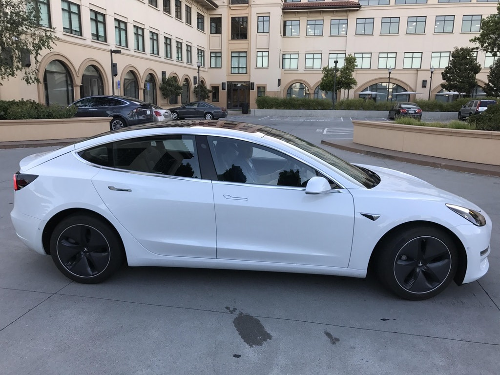 Tesla Model 3 Spotted Glass Roof From Inside User