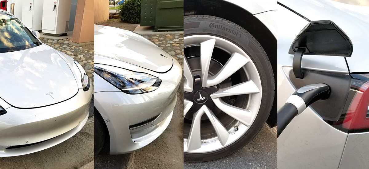 Tesla Model 3 closest look yet