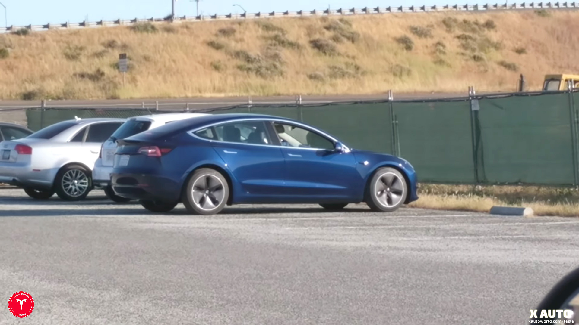 New 'aero wheels' spotted on a Tesla Model 3