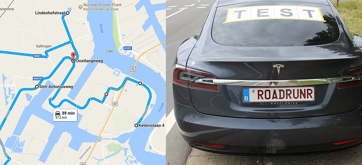 Driving an electric car for 23 hrs - 45 mins and over 900 kms on a single charge for a world record
