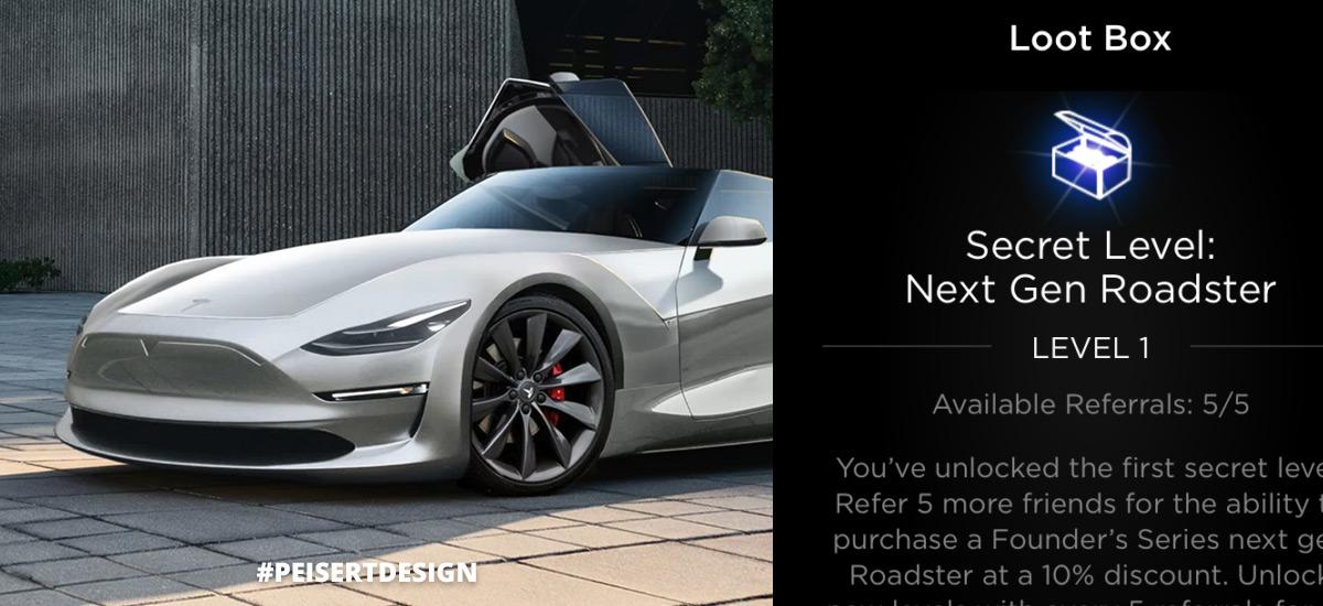 Chance to win next gen Tesla Roadster through the referral program