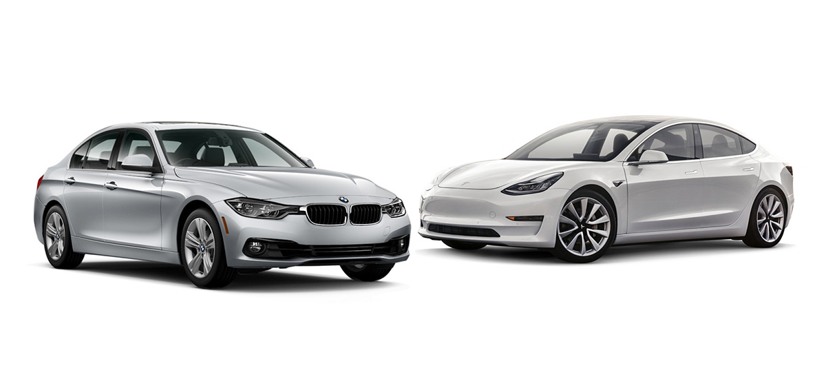 BMW 3 Series vs Tesla Model 3 Comparison