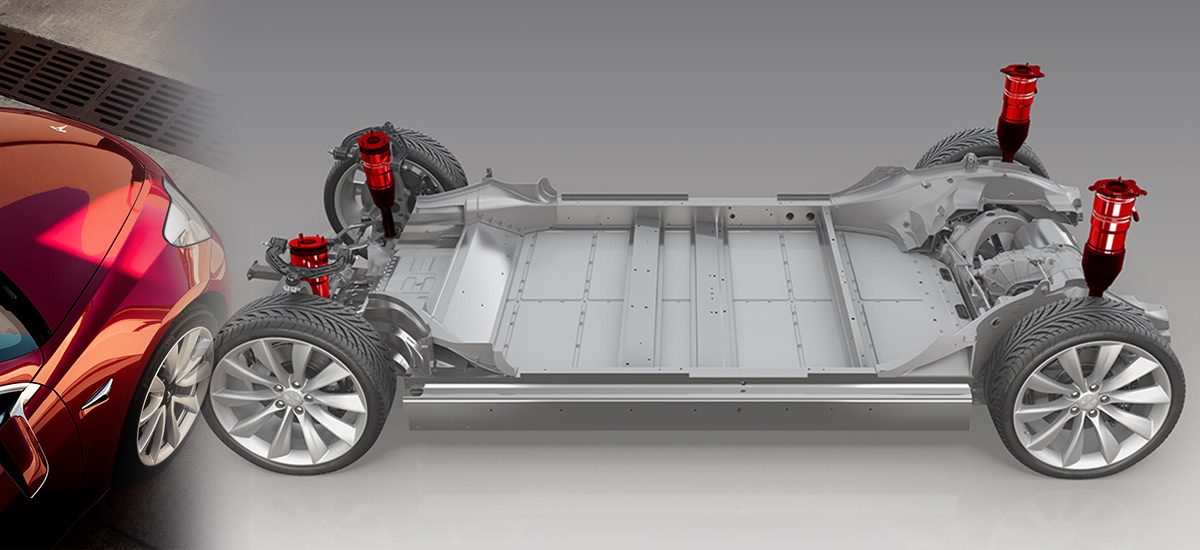 Tesla Model 3 Smart Air Suspension in 6 months