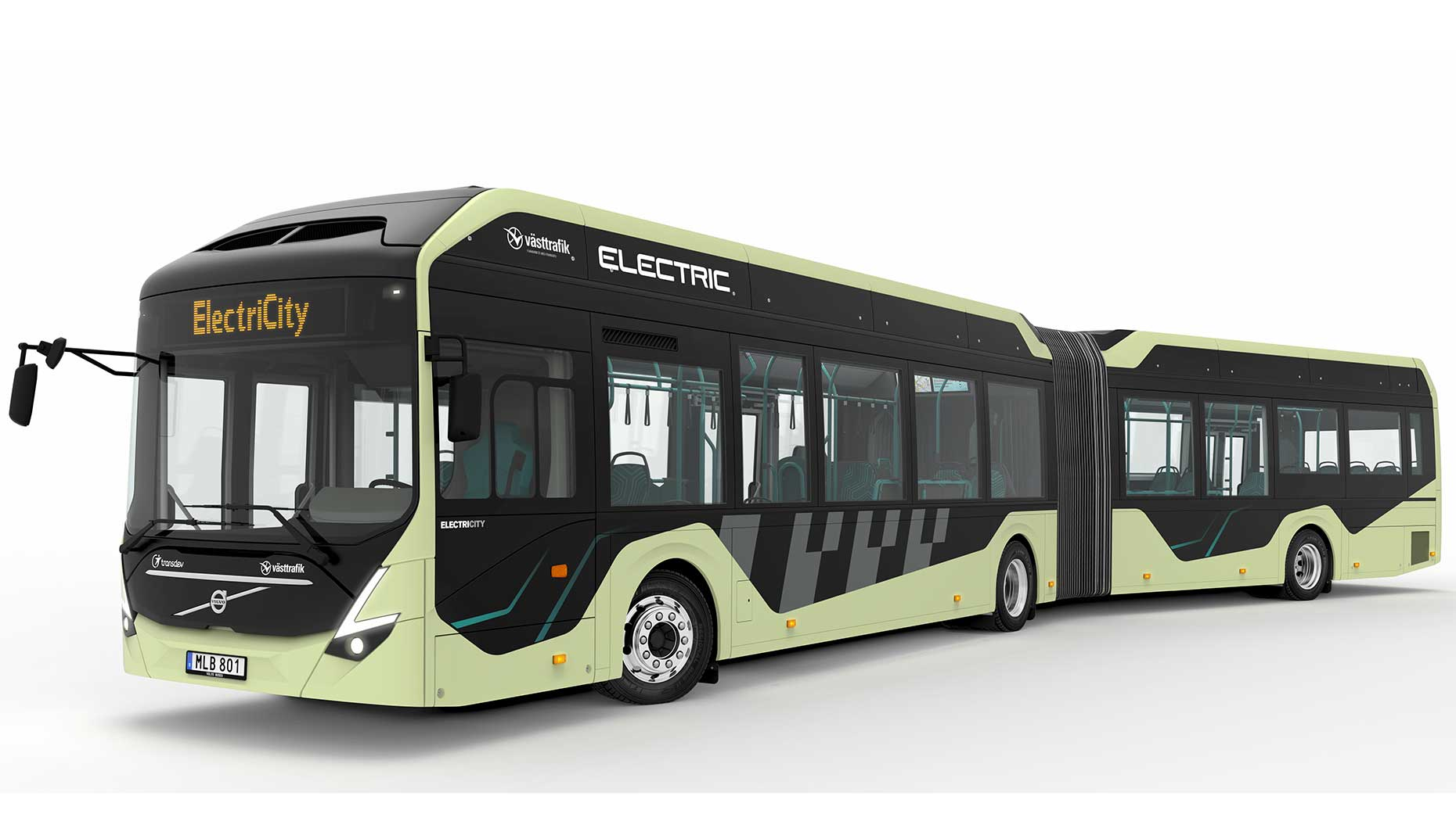 Pure Drive 2018 >> Volvo to test all-electric articulated buses for general public in Gothenburg, Sweden