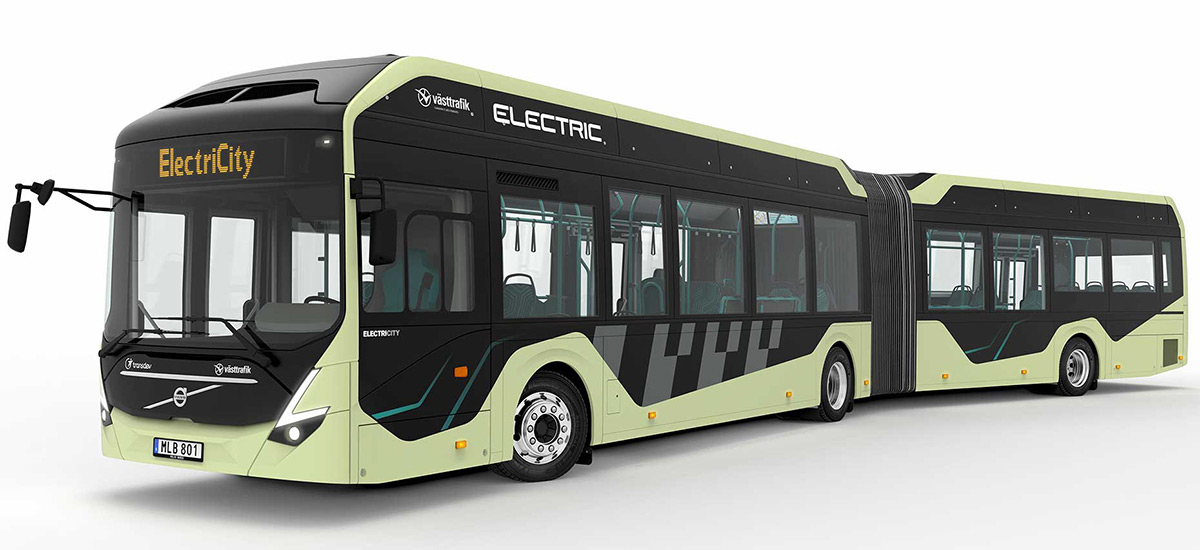Volvo EelectriCity - Electric Bus Sweden