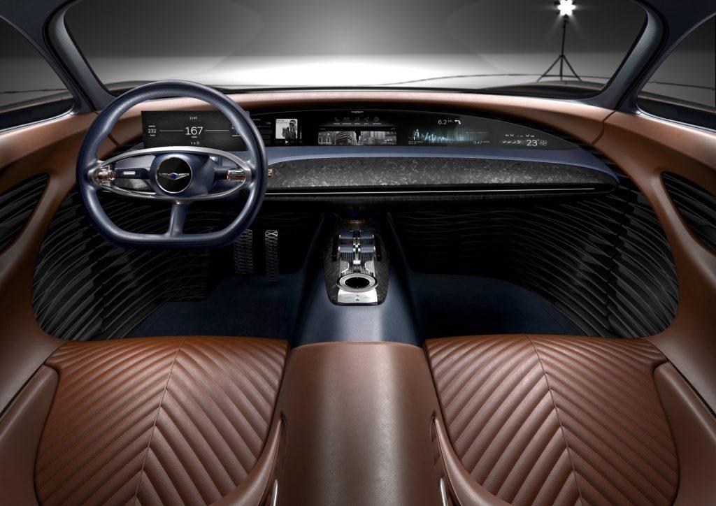 Genesis Essentia Concept - Interior Cockpit