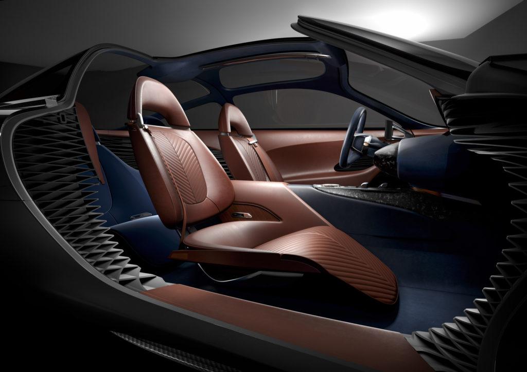 Genesis Essentia Concept - Interior Seats