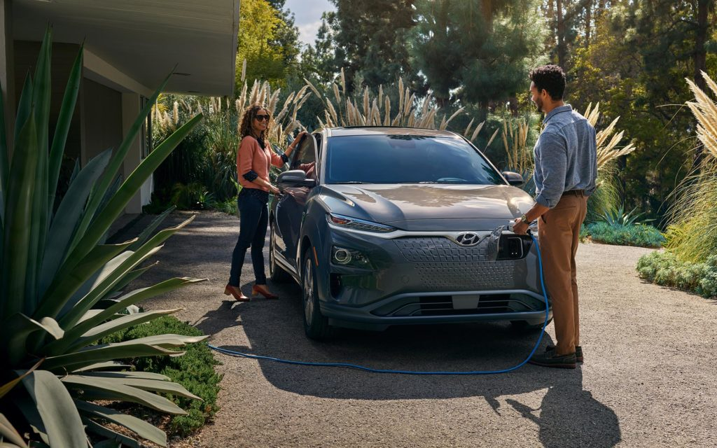 2019 Hyundai Kona Electric Home Charging